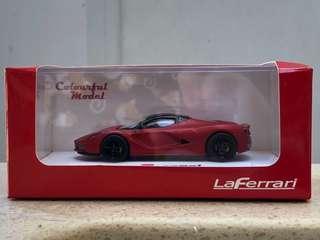 Colourful Model 1/64 LaFerrari 啞紅色