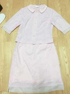 🚚 粉色洋裝👗