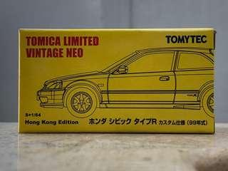 TomyTec 香港特別版 Honda Civic EK9