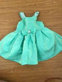Periwinkle Green Gown