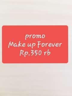 Make Up Forever promoooooo