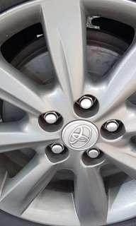 "Toyota 15"" Sports Rims + Michelin Tyres set (4 pieces)"