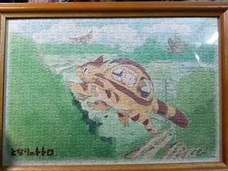 龍貓 1 宮崎駿 正版 30cm x 40cm拼圖連木相架