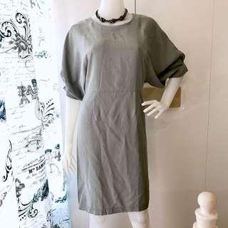 Gray Corporate Dress