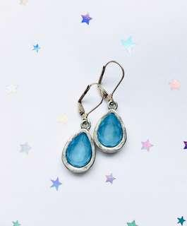 Swarovski Blue Earrings