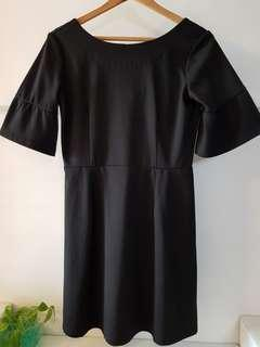 ASOS Black Skater Dress UK10 (with normal postage)