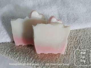 Cute organic soap