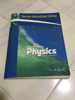 Conceptual Physics Pearson International Edition (Tenth Edition) Textbook + practice