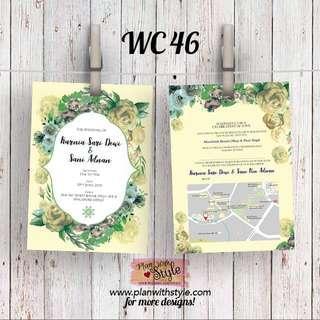 Wedding Card WC46