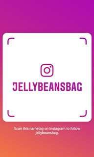 JellyBean's Bag - Follow me on IG