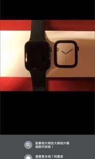 apple watch series 4 44mm space grey gps版