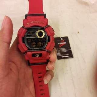 jam g shock GD red special edition