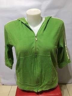 Green Hoodie Jacket