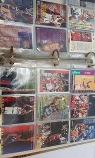 NBA basketball cards Michael Jordan
