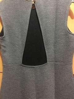 Forever 21 Gray Bodycon Dress , bareback