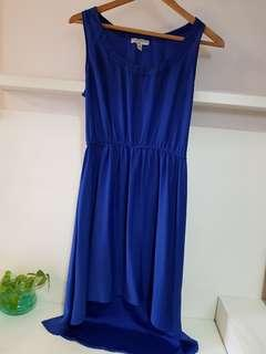Cotton On Royal Blue Dress- XS (with normal postage)
