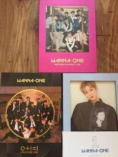wanna one albums daniel set