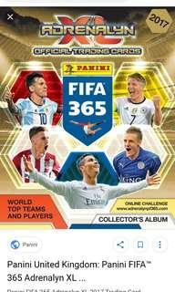 Fifa 365 adrenalyn 2017