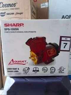 Pompa air sharp SPS-109SN new
