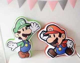 Mario/Luigi Cushion