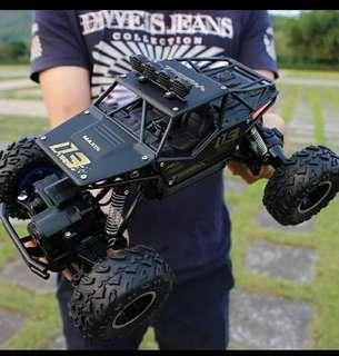 Jualan Murah!! Rock Crawler 1:16 SCALE 4WD Remote Control RC Monster Truck- ALLOY BODY