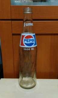 Vintage Large Pepsi Bottle.