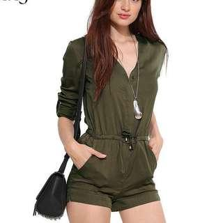 INCLUDE POSTAGE Green jumpsuit