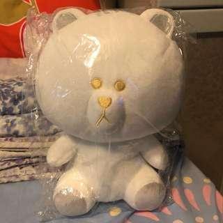 🇯🇵日本限定白色Brown熊大公仔