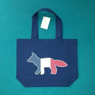 Blend Tricolour Fox Print Tote Maison Kitsune (Tote Bag)