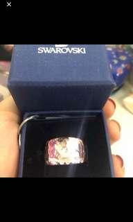 Swarovski 粉紅色水晶介子 💯%real