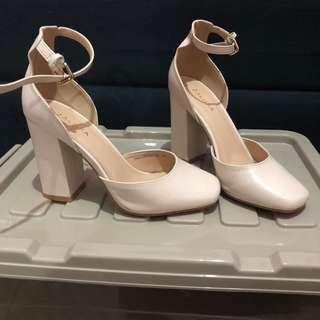 Zalora high heels block chunky
