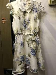 日牌GRL高質花花連身裙