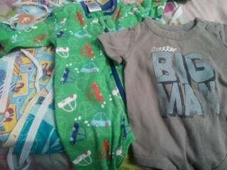 #TGV3 Preloved Baby Rompers with barut baby bundle set
