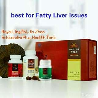 for fatty liver issues , INFINITUS supplement