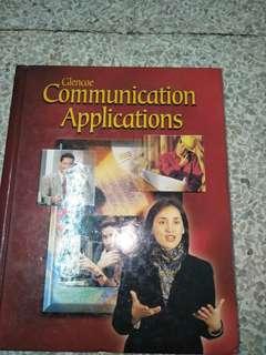 Glencoe Communication Applications Book