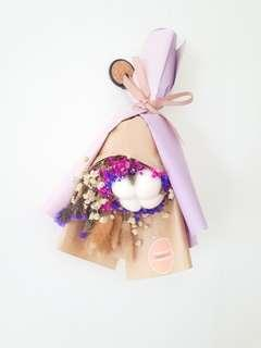 Dried Purple Baby Breath Bouquet | Dried Flowers Bouquet | Anniversary Gift