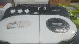 Mesin Cuci Maspion 12Kg Kredit Tanpa DP Dan Bunga 0% Dicicil 6 Bulan
