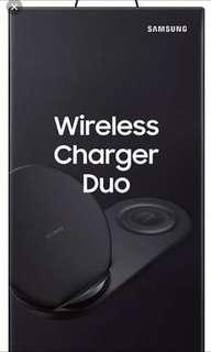 Branded new Samsung wireless charge duo.