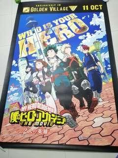 Boku No Hero Academia/ My Hero Academia - Who Is Your Hero  Cinema Poster