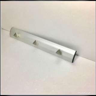 🚚 壁式鋁主體3鋅合金掛鉤#2