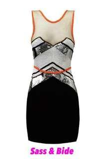 SASS & BIDE Going Home Silk Dress