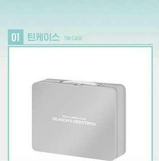 WANNAONE SEASON GREETINGS TIN CASE
