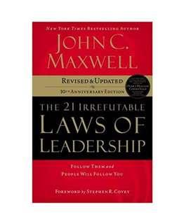 [Ebook] The 21 Irrefutable Laws of Leadership: Follow Them and People Will Follow You by John C. Maxwell [PDF]