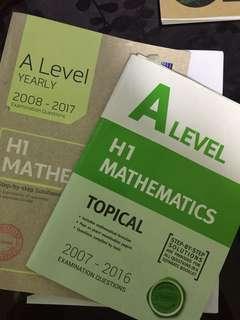 H1 Mathematics TYS (2008-2017)