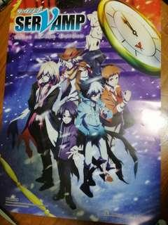 Servamp - Alice In The Garden  A3 Poster