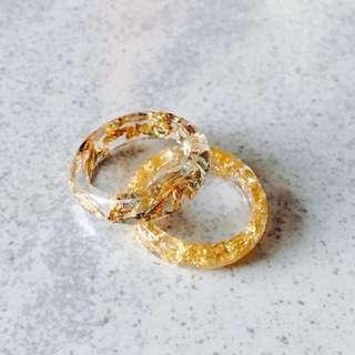 Classic Chic Resin Ring