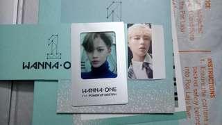 [WTT] Wanna One Power Of Destiny Photocards (Sungwoon, Baejin, Daehwi)