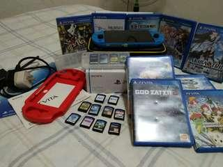 PS Vita Slim + 11 games