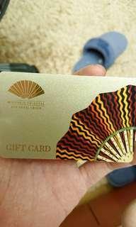 Mandarin Oriental Gift Card $400 sgd