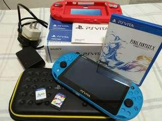 PS Vita Slim + 2 games